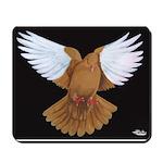 Domestic Flight Pigeon Mousepad
