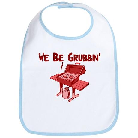 We Be Grubbin Bib
