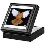 Domestic Flight Pigeon Keepsake Box