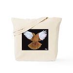 Domestic Flight Pigeon Tote Bag