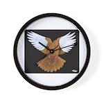 Domestic Flight Pigeon Wall Clock