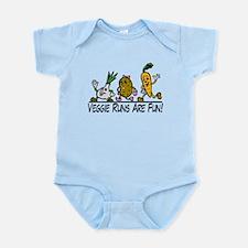 Veggie Runs Infant Bodysuit