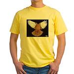 Domestic Flight Pigeon Yellow T-Shirt