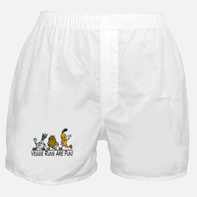Veggie Runs Boxer Shorts