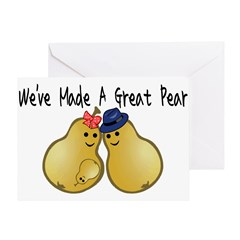 Great Pear Greeting Card