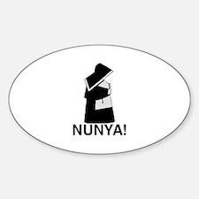 Nunya Decal