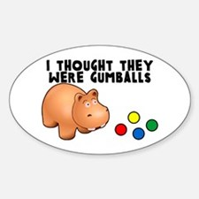Hippo Gumballs Decal
