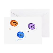 Yo Yo Yo Greeting Card