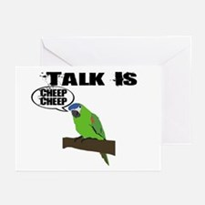 Talk Is Cheep Cheep Greeting Cards (Pk of 20)