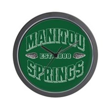 Manitou Springs Wall Clock