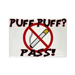 Puff Puff Pass Rectangle Magnet (10 pack)