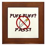 Puff Puff Pass Framed Tile