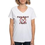 Puff Puff Pass Women's V-Neck T-Shirt