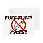 Puff Puff Pass Greeting Cards (Pk of 10)