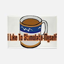 Coffee Stimulation Rectangle Magnet