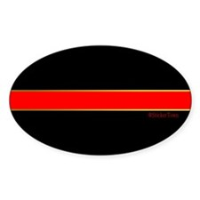 EMT Medic Thin Red Line Decal