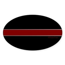 Steel Thin Red Line Decal
