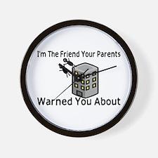 Parents Warned You Wall Clock