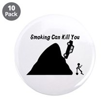 "Smoking Can Kill You 3.5"" Button (10 pack)"