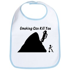 Smoking Can Kill You Bib