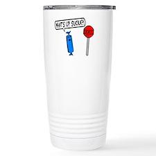 What's Up Sucka Travel Mug