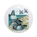 Rock Doves Ornament (Round)