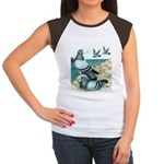 Rock Doves Women's Cap Sleeve T-Shirt