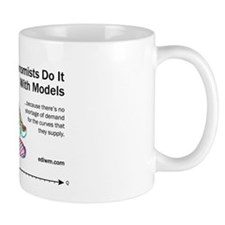 Economists Do It With Models Basic Mug