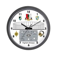 Field Station Augsburg Wall Clock