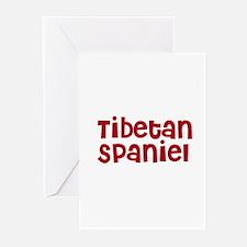 Tibetan Spaniel Greeting Cards (Pk of 10)