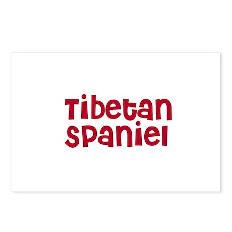 Tibetan Spaniel Postcards (Package of 8)