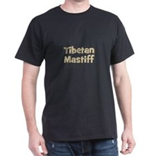 Tibetan Mastiff Black T-Shirt