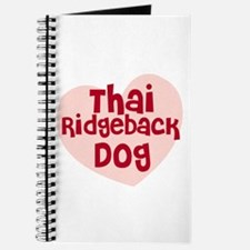Thai Ridgeback Dog Journal