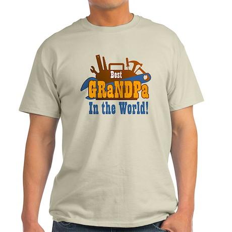 Tools Best Grandpa Light T-Shirt