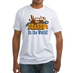 Tools Best Grandpa Fitted T-Shirt