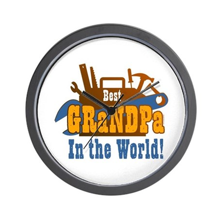 Tools Best Grandpa Wall Clock
