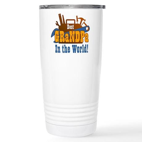 Tools Best Grandpa Stainless Steel Travel Mug