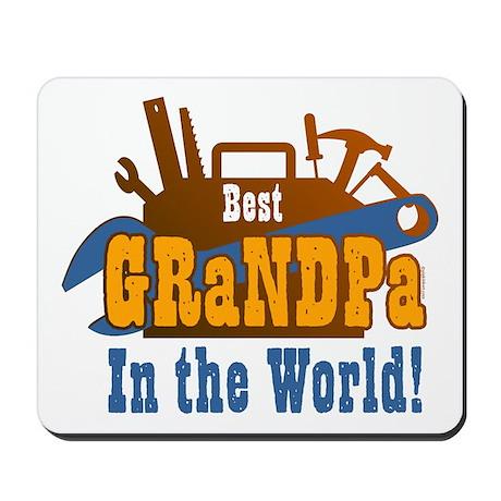 Tools Best Grandpa Mousepad