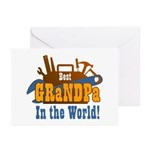 Tools Best Grandpa Greeting Cards (Pk of 10)