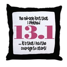 13.1 Courage to Start Throw Pillow