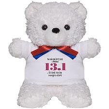 13.1 Courage to Start Teddy Bear