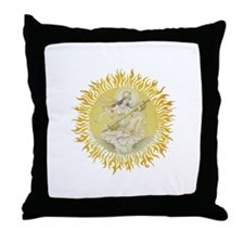 Cute Saraswati Throw Pillow