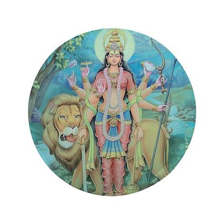 """Durga 3.5"""" Button"""