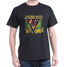 Pool/Billiards #1 Dad T-Shirt