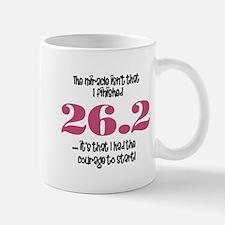 26.2 Courage to Start Mug