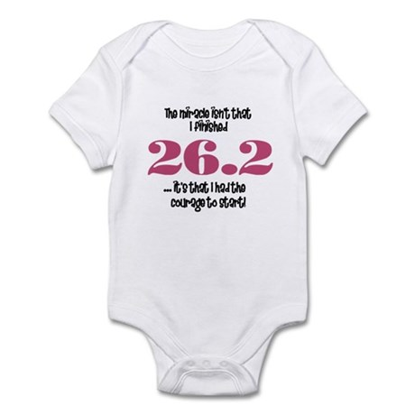 26.2 Courage to Start Infant Bodysuit