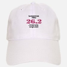 26.2 Courage to Start Baseball Baseball Cap