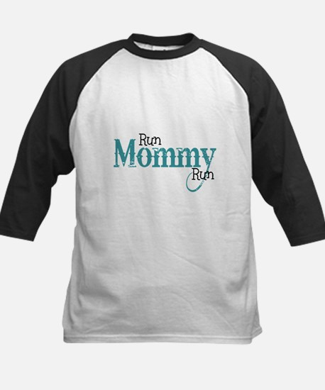 Run Mommy Run Kids Baseball Jersey