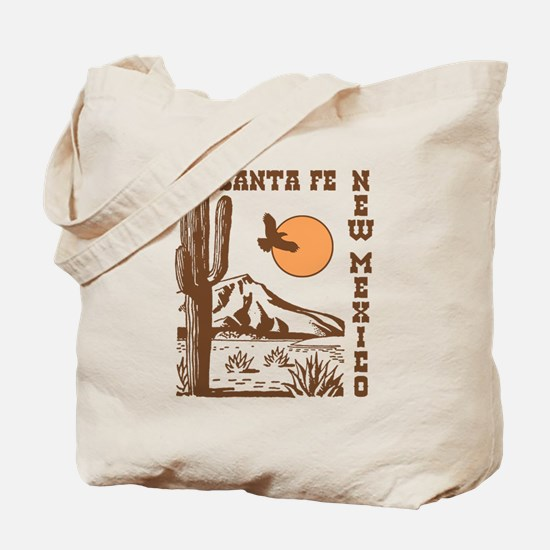 Santa Fe New Mexico Tote Bag