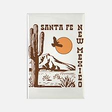 Santa Fe New Mexico Rectangle Magnet